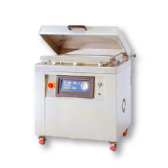 Single chamber stainless steel vacuum packaging machine