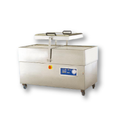 Double chamber stainless steel vacuum packaging machine