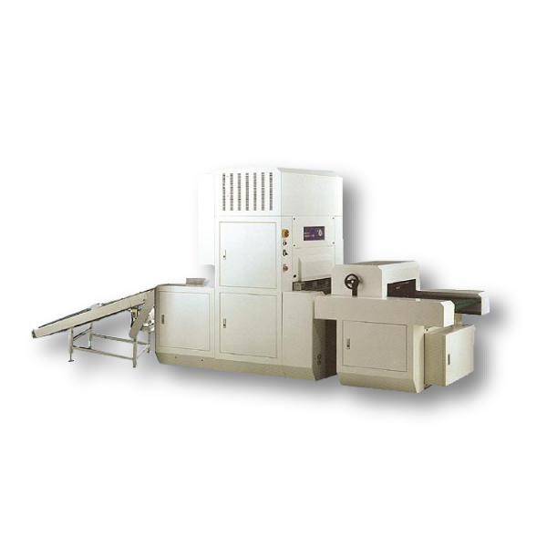 Automatic bag flattening and vacuum packaging machine for grain products