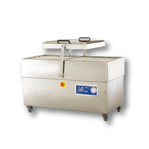 Swing Lid Double Chamber Stainless Steel Vacuum Packaging Machine